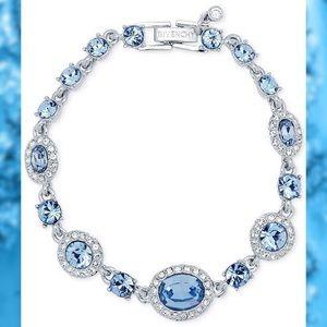 NWT Light Blue Crystal Flex Bracelet